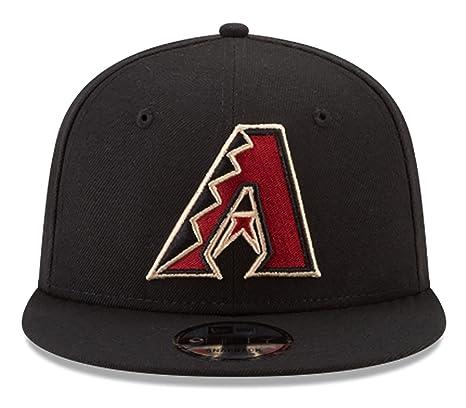 499d02b22d502 New Era Arizona Diamondbacks Snapback MLB National League Patch Black