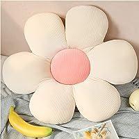 Aidou Tusensköna blomformad söt kudde blomma golvkudde sittkudde dekorativ prydnadskudde för läsning och avslappning…