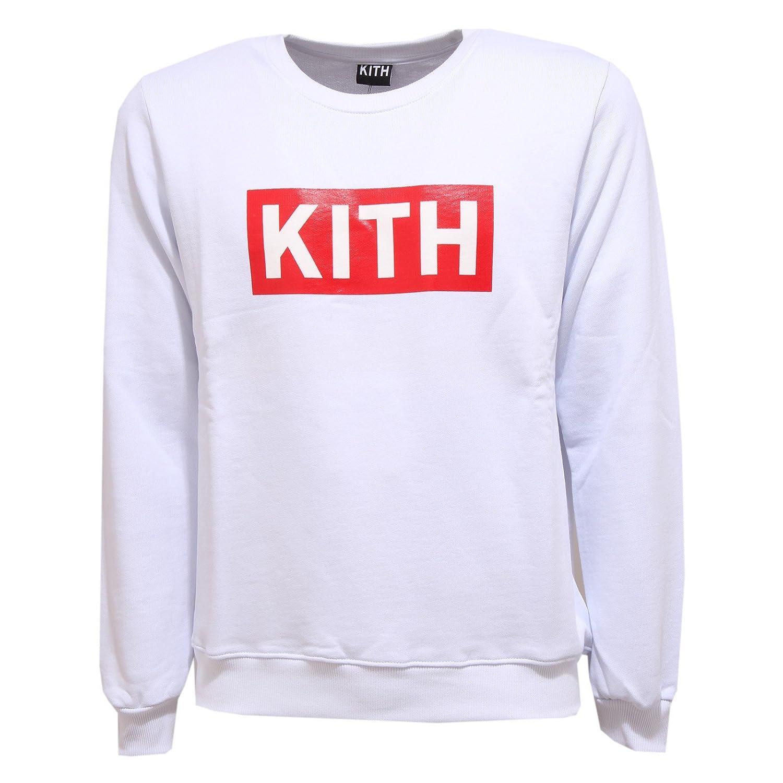 KITH 0266U Felpa  Herren Bianco Weiß Sweatshirt Men