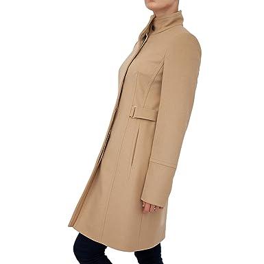 Boss Hugo Damen Mantel Beige Beige Amazonde Bekleidung