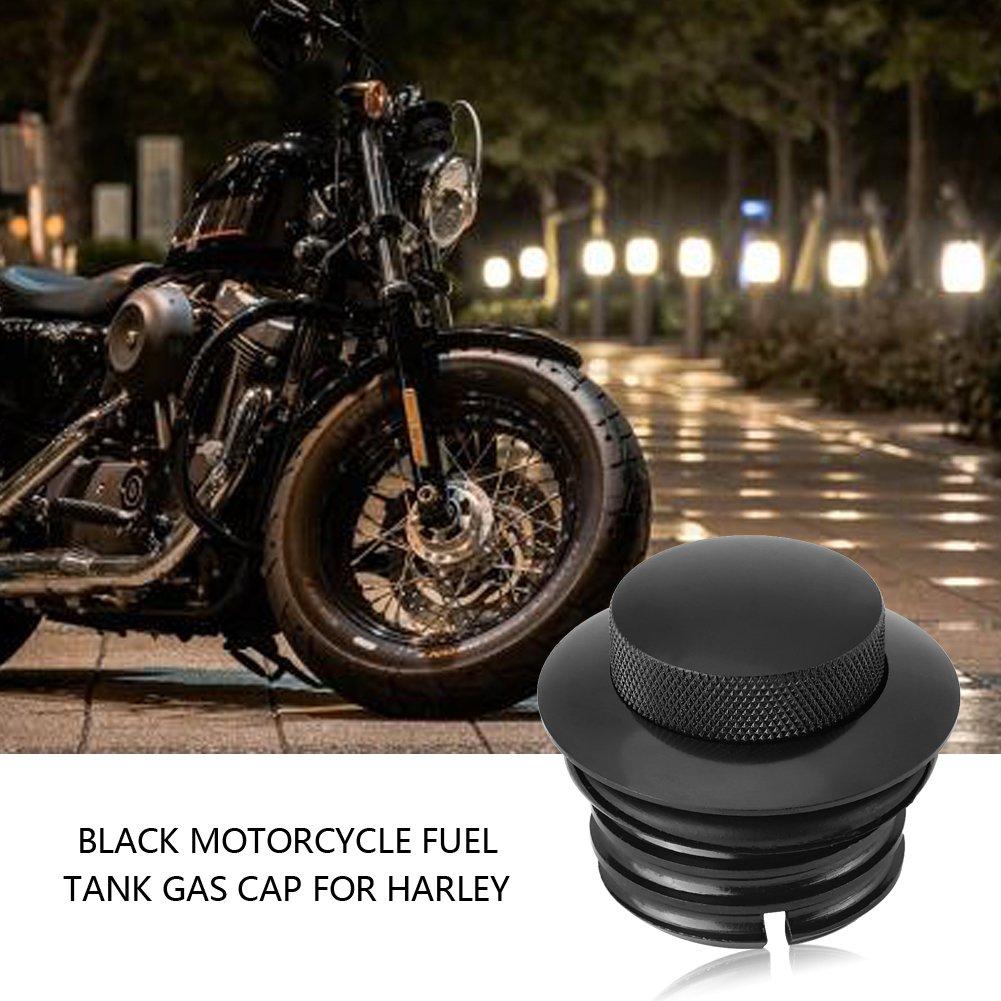 Motorcycle Fuel Cap Motorcycle Reservoir Gas Cap Vented Fuel Tank Cap Single Screw in Gas Cap