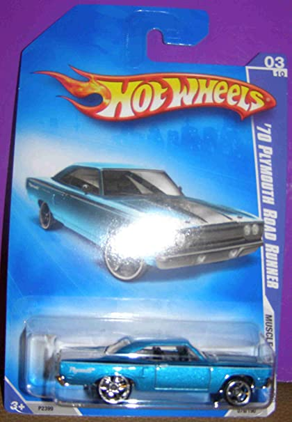 Hot Wheels /'70 Plymouth Road Runner Muscle Mania Black