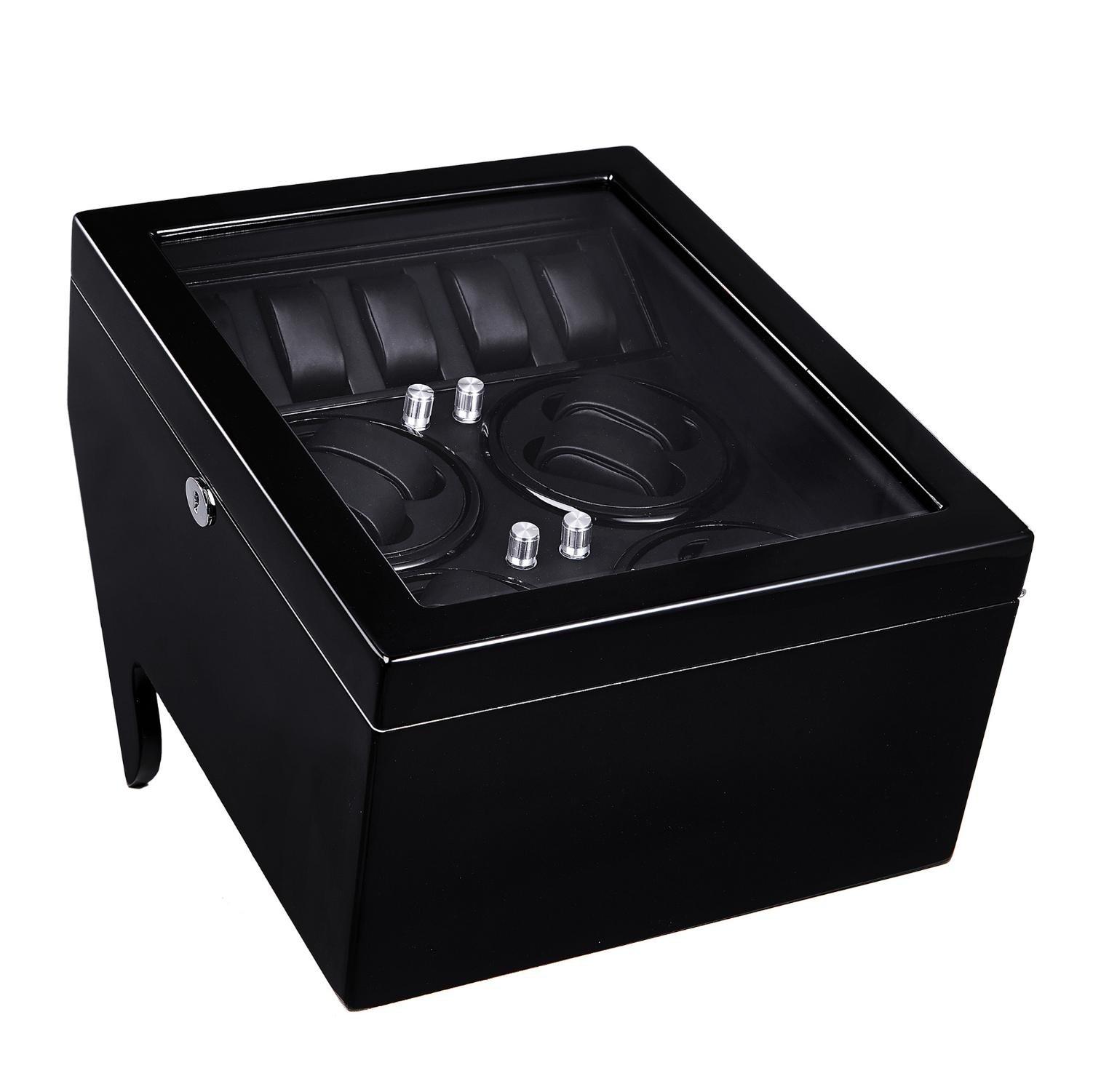 KAIHE-BOX (8 + 5) Automatic Watch Winders Winder storages box Display Box Case Quiet Mabuchi Motors WB6937