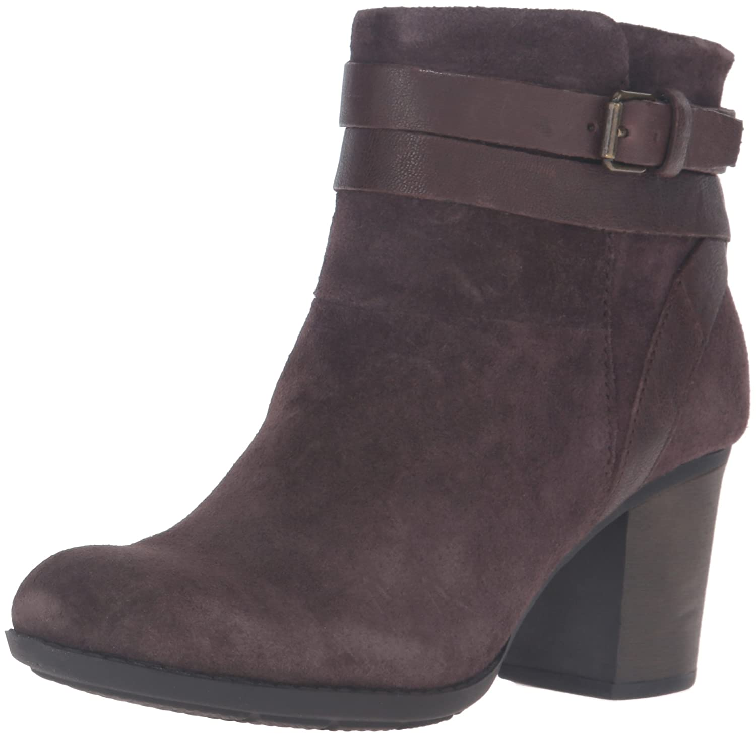 CLARKS Women's Enfield River Boot B0198WG5R2 7 B(M) US Brown Suede