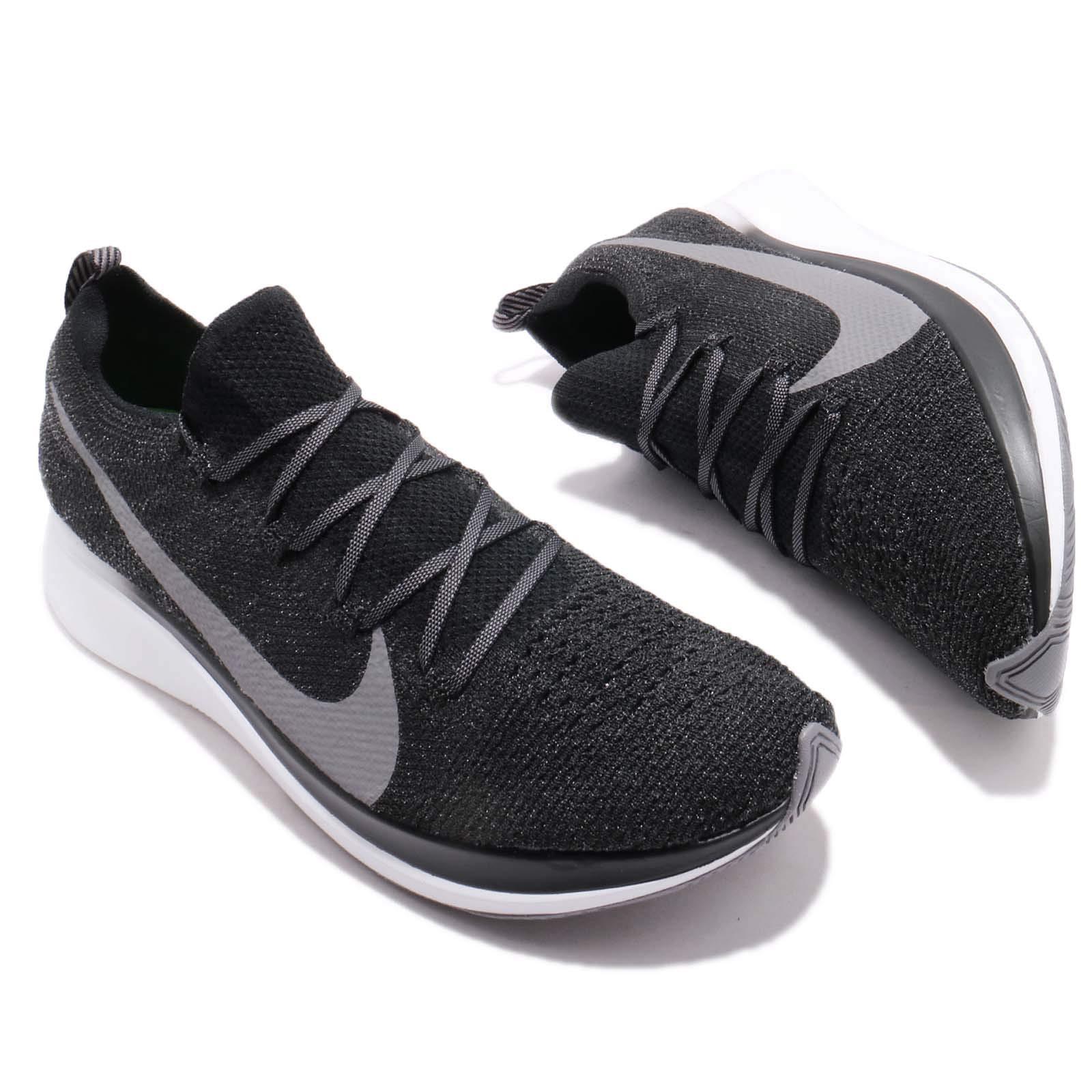 Nike Zoom Fly Flyknit Men's Running Shoe Black/Gunsmoke-White Size 7.5 by Nike (Image #7)