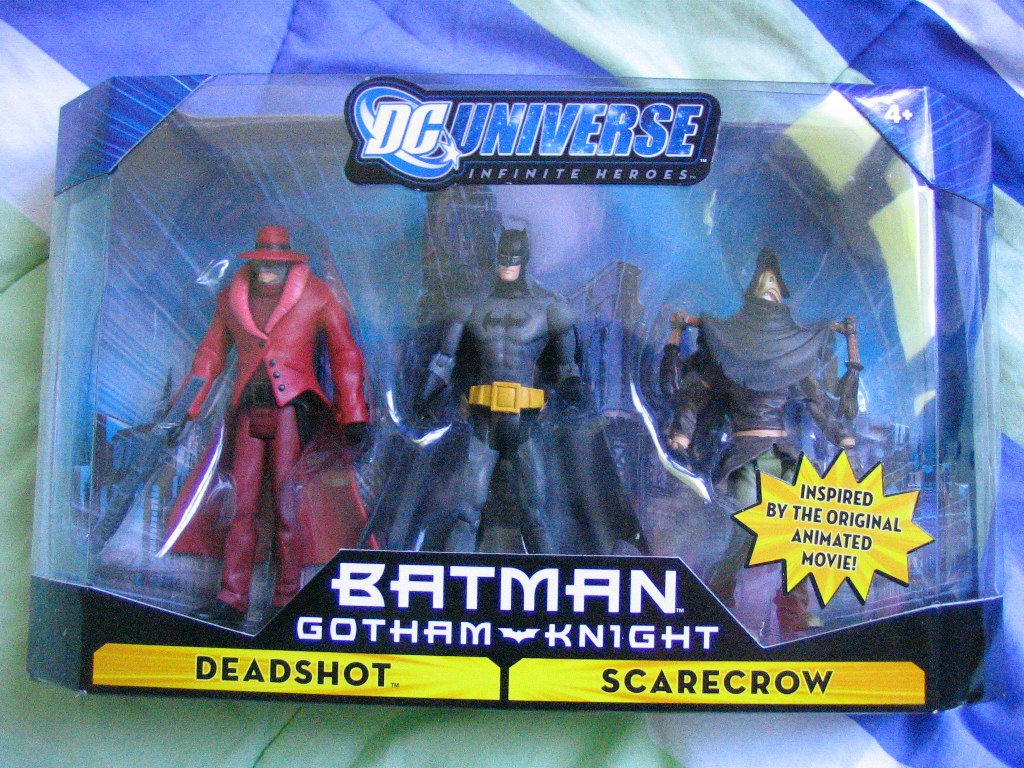 DC Universise Infinite Heroes with Batman Scarecrow Figures Deadshot