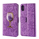 Jennyfly iPhone 8 Plus Wallet Cover,PU Leather