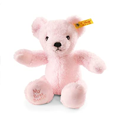 Steiff My First Teddy Bear Plush, Pink: Toys & Games