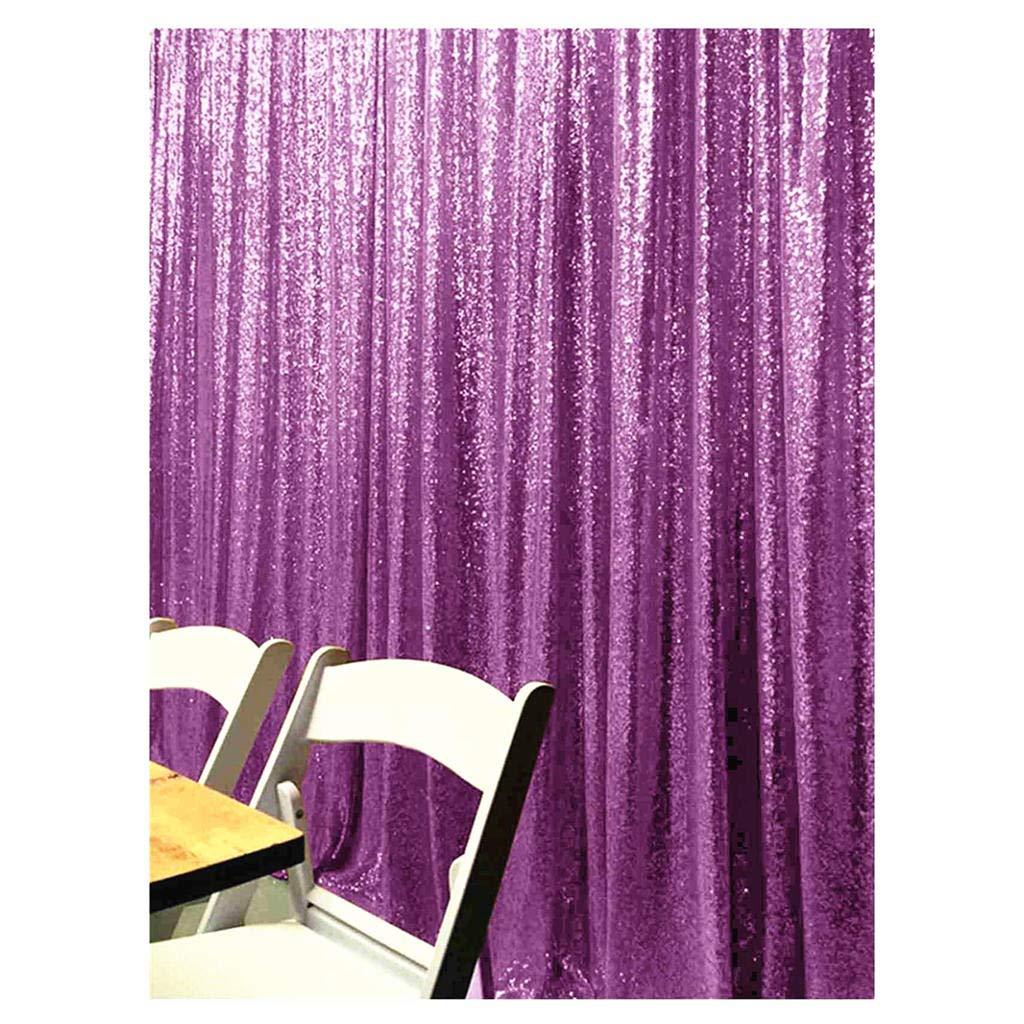 ShinyBeauty Lavender Sequin Backdrop Light Purple-8FTx8FT-Sequin Photo Backdrop Glitter Backdrop Sequin-Curtain-Backdrop~190319E