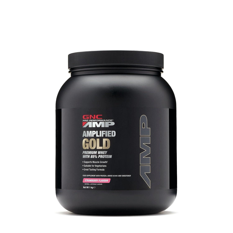 Gnc Pro rendimiento amplificado de oro - Fresa: Amazon.es ...