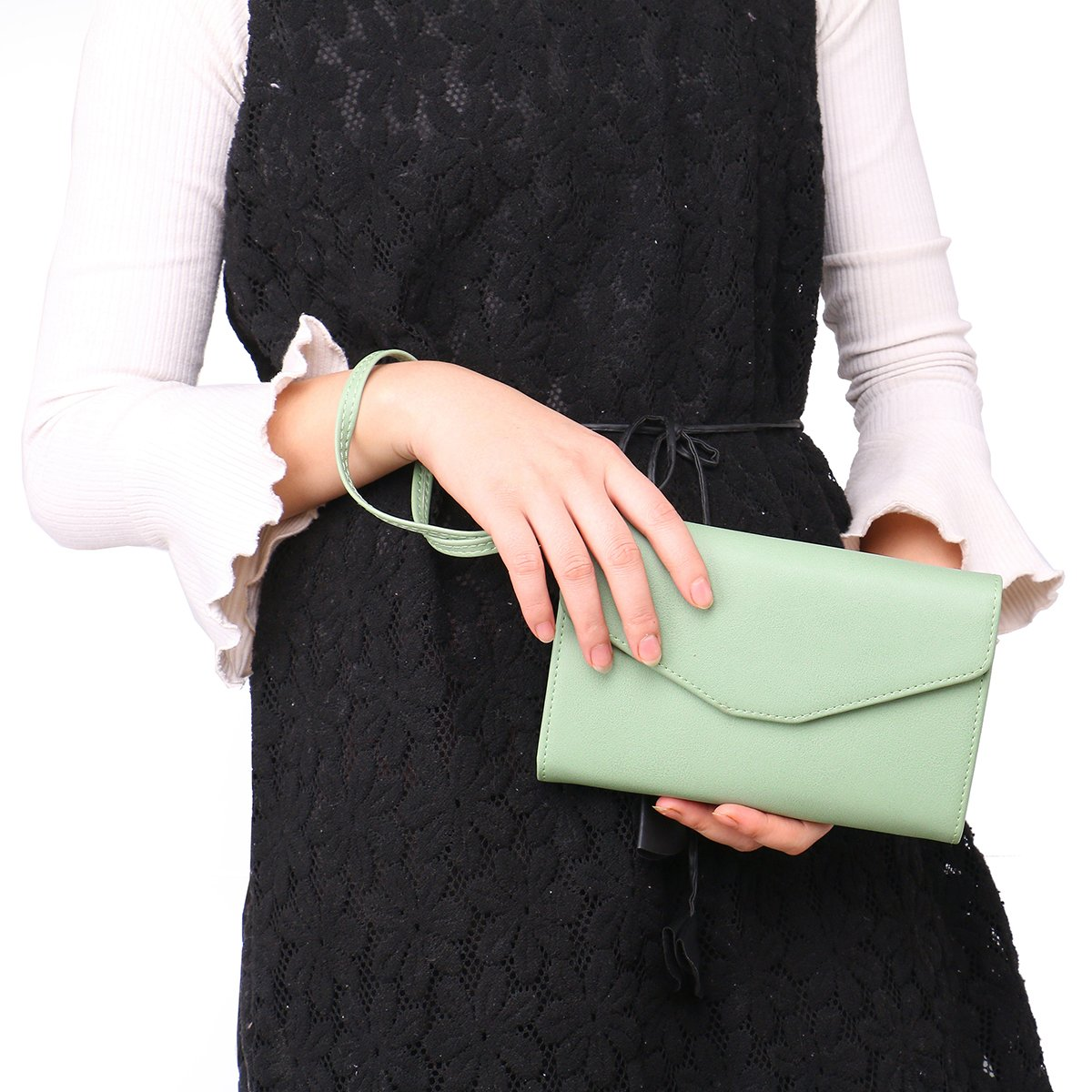 Zg Wristlets for Women, Cell Phone Clutch Wallet, Passport Wallet, All In One Purse Extra Capacity by Zg gift (Image #2)