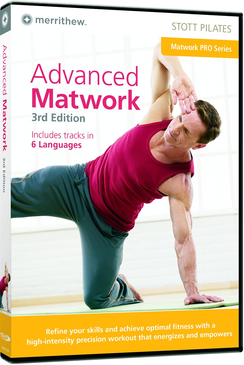 STOTT PILATES Advanced (6 Languages) Moira Stott Stott Pilates: Advanced Cadillac 2nd Edition DV-81141 Fitness/Self-Help Movie