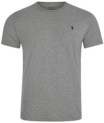 Polo Ralph Lauren Men\u0026#39;s Crew Neck T-shirt (X-Small, Battallion Heather