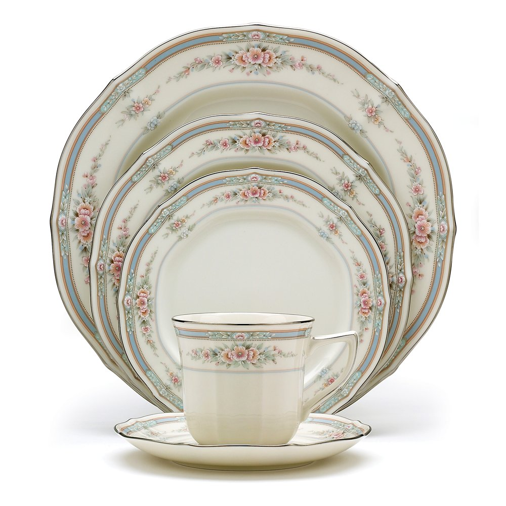 Amazon.com | Noritake Rothschild 5-Piece Place Setting: Dinnerware ...