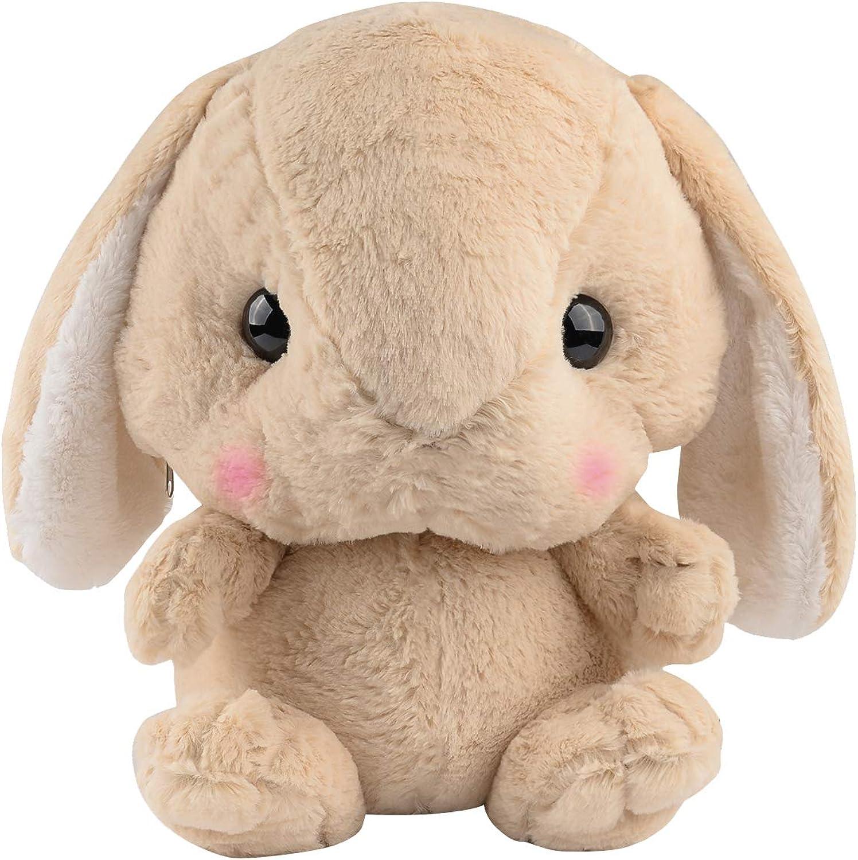 Toddler Girl Backpack Light Gray Bunny Backpack Easter Gifts For Girls