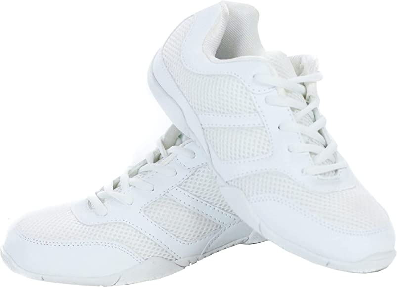 Amazon.com | Danzcue Cheer Shoe, White