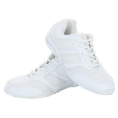 Danzuce Cheer Shoe, White, 5 M: Amazon