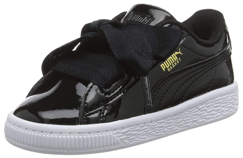 Puma Basket Heart Patent Inf, Sneakers Basses Mixte Enfant