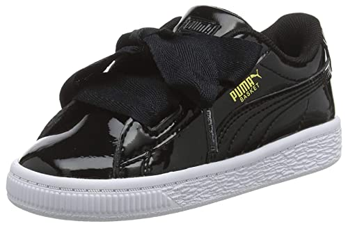 innovative design ca5e9 c44f3 Puma Basket Heart Patent Inf, Zapatillas Bebé-para Niñas  Amazon.es  Zapatos  y complementos