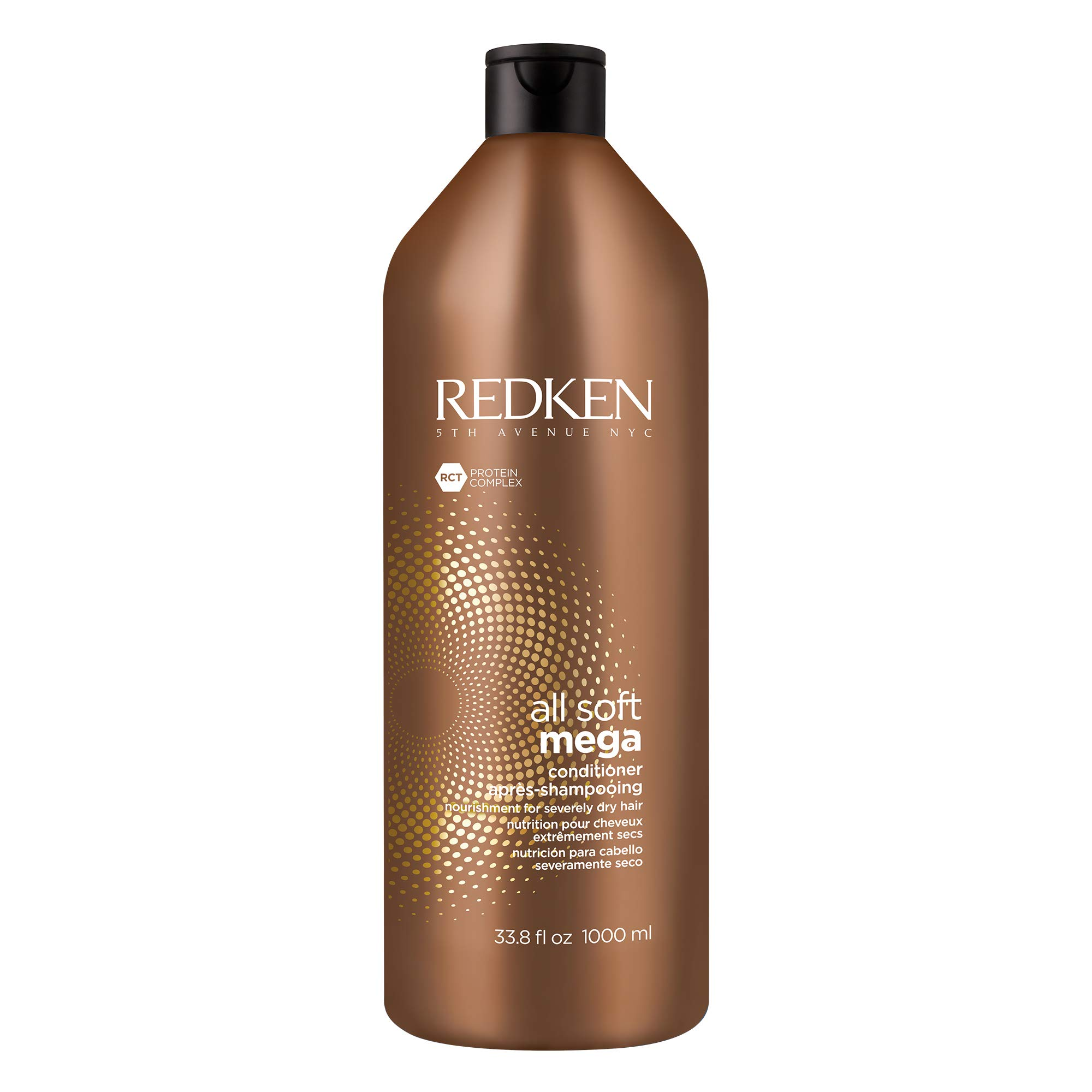Redken All Soft Mega Conditioner | For Extremely Dry Hair | Nourishes & Softens Severely Dry Hair | With Aloe Vera