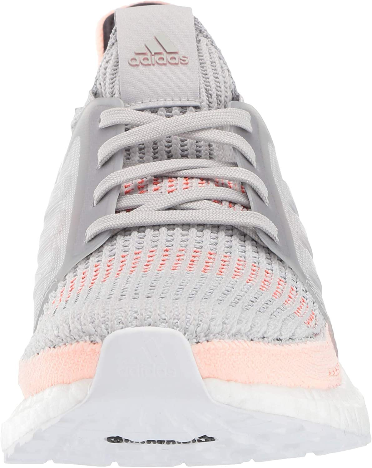adidas Women's Ultraboost 19 Running Shoe Grey/Clear Orange/True Orange