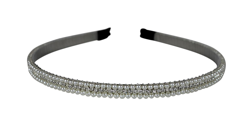 Women's Handmade Rhinestone & Faux Pearl Fashion Headband Great Gatsby / Flaper Inspired