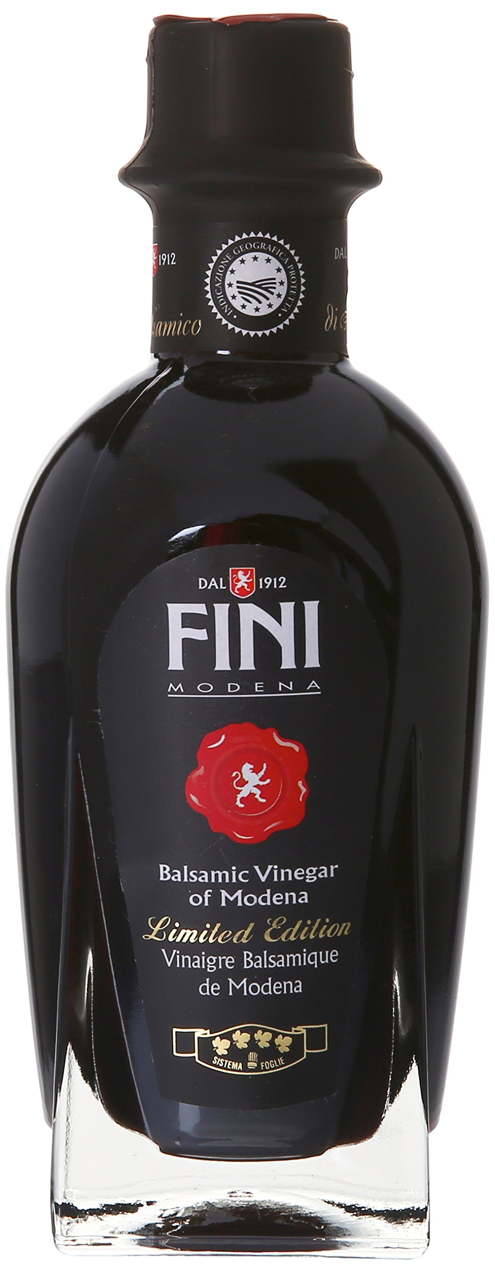 Fini Balsamic Vinegar Gift Box, 250 Mililiter 1 Limited addition bottle of Fini Balsamic Vinegar of Modena in a stylish gift box Makes for a unique and flavorful contribution to salad dressings or your favorite Italian dishes Perfect gift for the foodie in your life