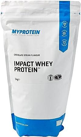 MyProtein Impact Whey Proteína de Suero, Sabor Stevia Chocolate - 1000 gr: Amazon.es: Salud y cuidado personal