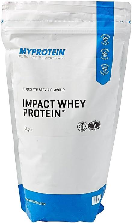 MyProtein Impact Whey Proteína de Suero, Sabor Stevia Chocolate - 1000 gr