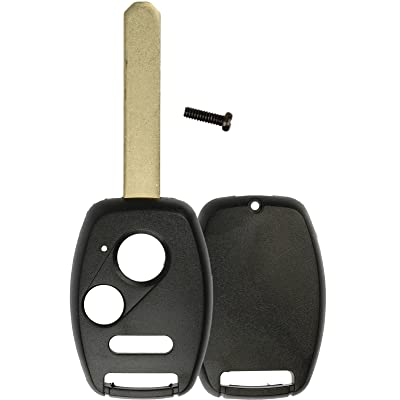 KeylessOption Just The Case Keyless Entry Remote Head Key Combo Fob Shell: Automotive [5Bkhe0907617]