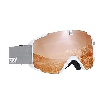8d0dafb0a9 Salomon Xview Access Gafas de esquí Unisex, Condiciones climáticas  Variables, Lente Naranja con Efecto