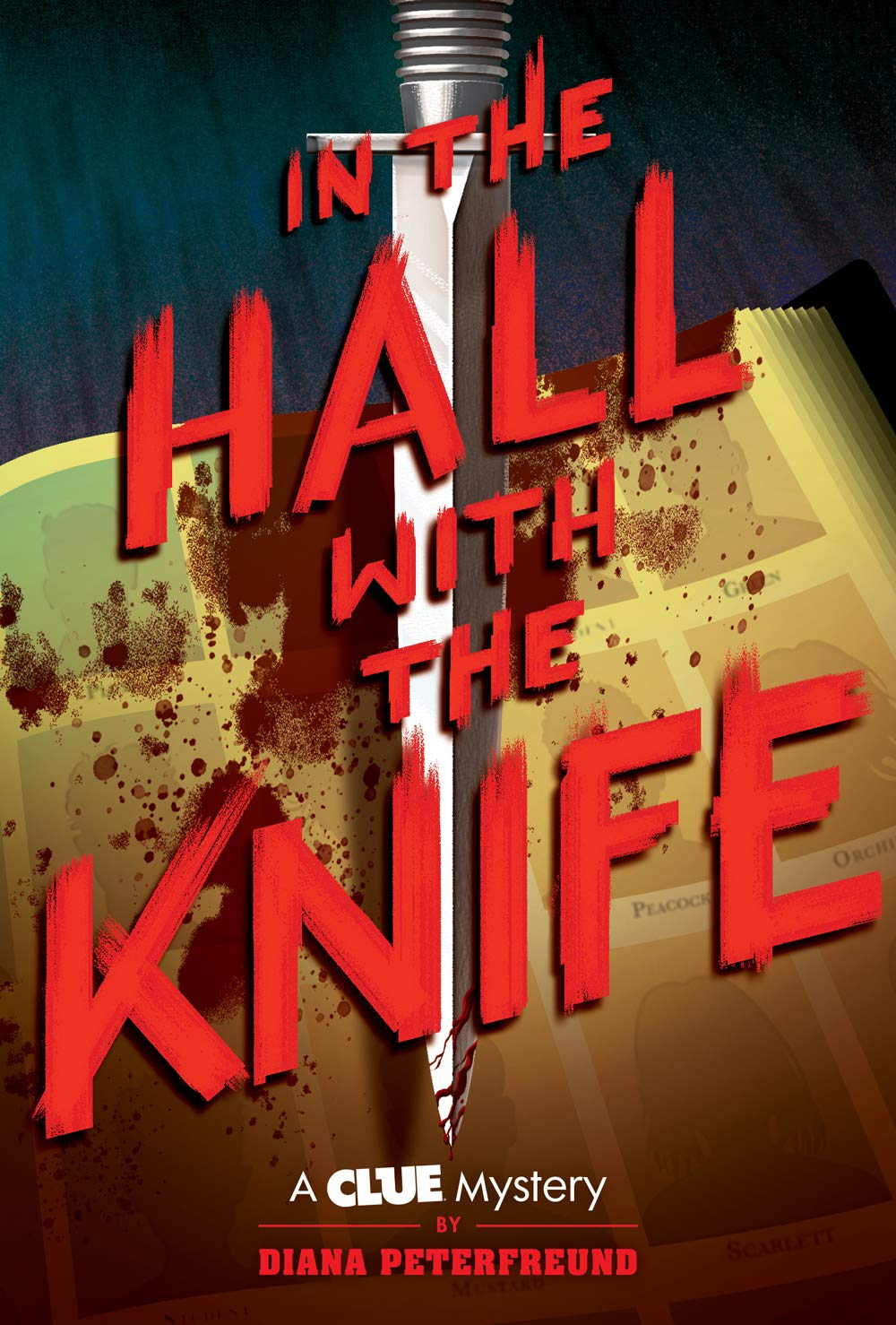 Image result for in the hall with the knife