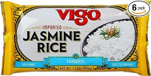 Vigo importados Jazmín fragante Arroz de Arroz, 2-Pound ...