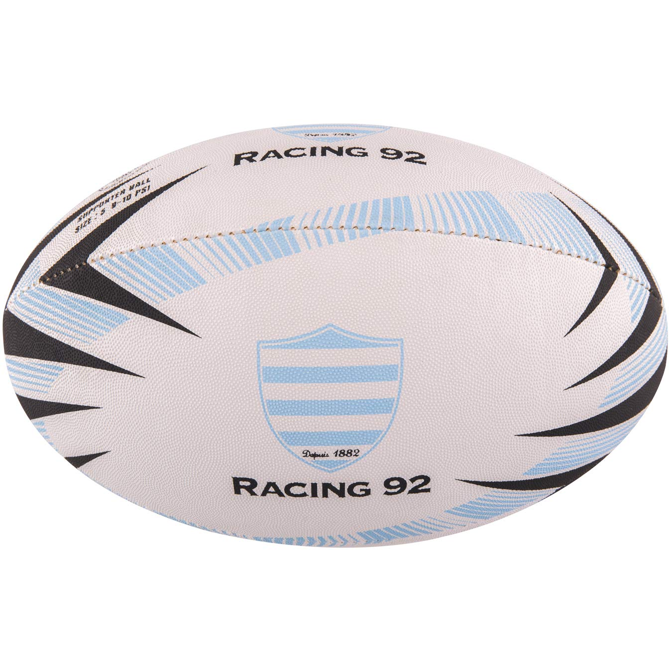 Gilbert Ballon Rugby Racing 92 - Supporter - T5 5024686283132