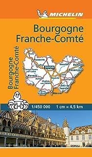 Carte Bourgogne Liberte.Amazon Fr Carte Routiere Bourgogne Franche Comte N 243