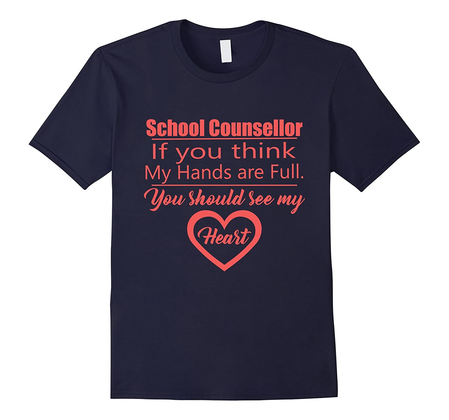 Cute School Counsellor Funny graphic tee shirt-TD