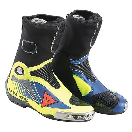 scarpe originali ottimi prezzi la più grande selezione del 2019 DAINESE Stivali da Moto, Fluo Giallo/Yamaha Blu, Taglia 41 ...