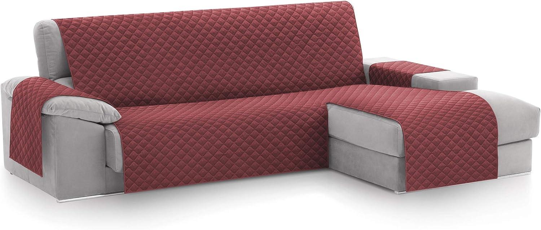 textil-home Funda Cubre Sofá Chaise Longue Malu, Protector para ...