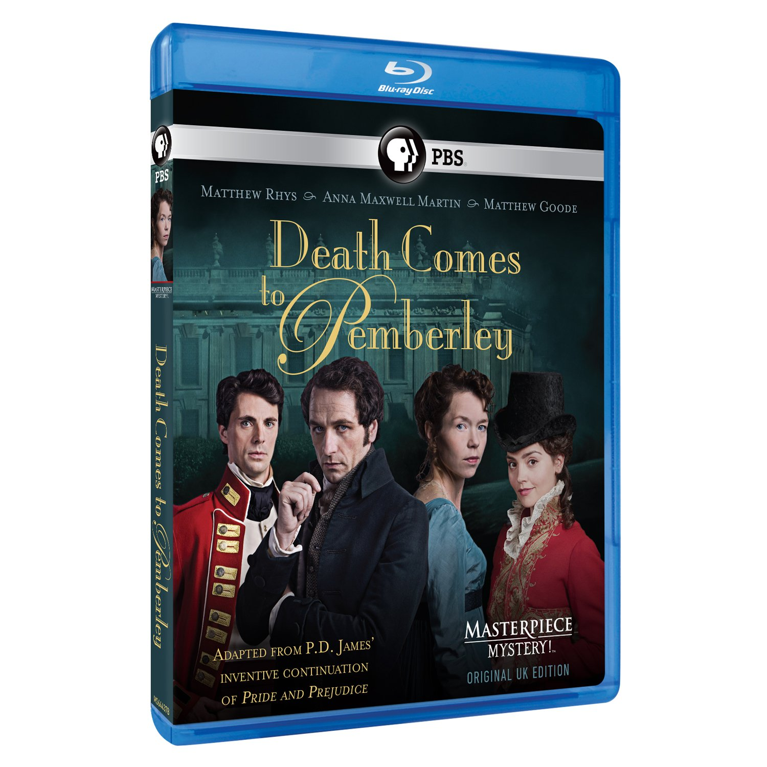 Blu-ray : Death Comes To Pemberley (masterpiece) (2 Pack)