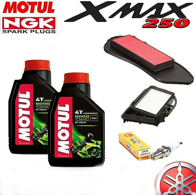 Inspektionsset Yamaha X Max 250 2010 2011 2012 Xmax X Max Öl Filter Zündkerze Auto