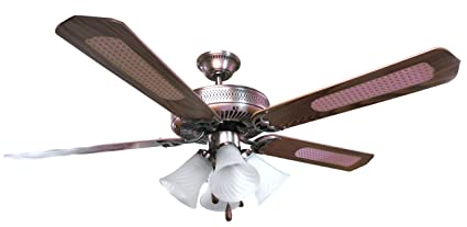 Overseas use only sakura sa5203ab 52 five blade 220 volt ceiling overseas use only sakura sa5203ab 52quot five blade 220 volt ceiling fan with four lights aloadofball Images