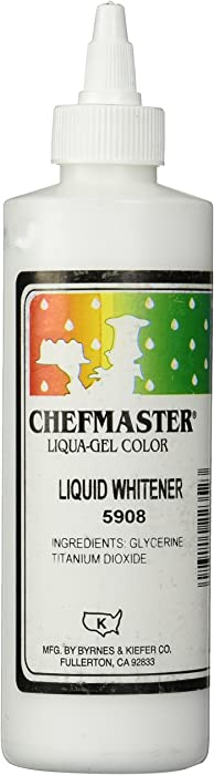 Top 9 Chefmaster White Gel Food Coloring