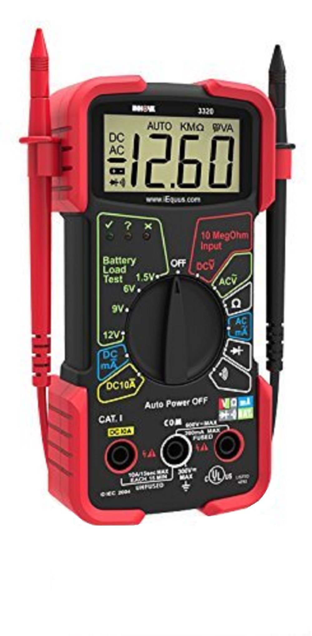 INNOVA 3320 Auto-Ranging Digital Multimeter by Innova