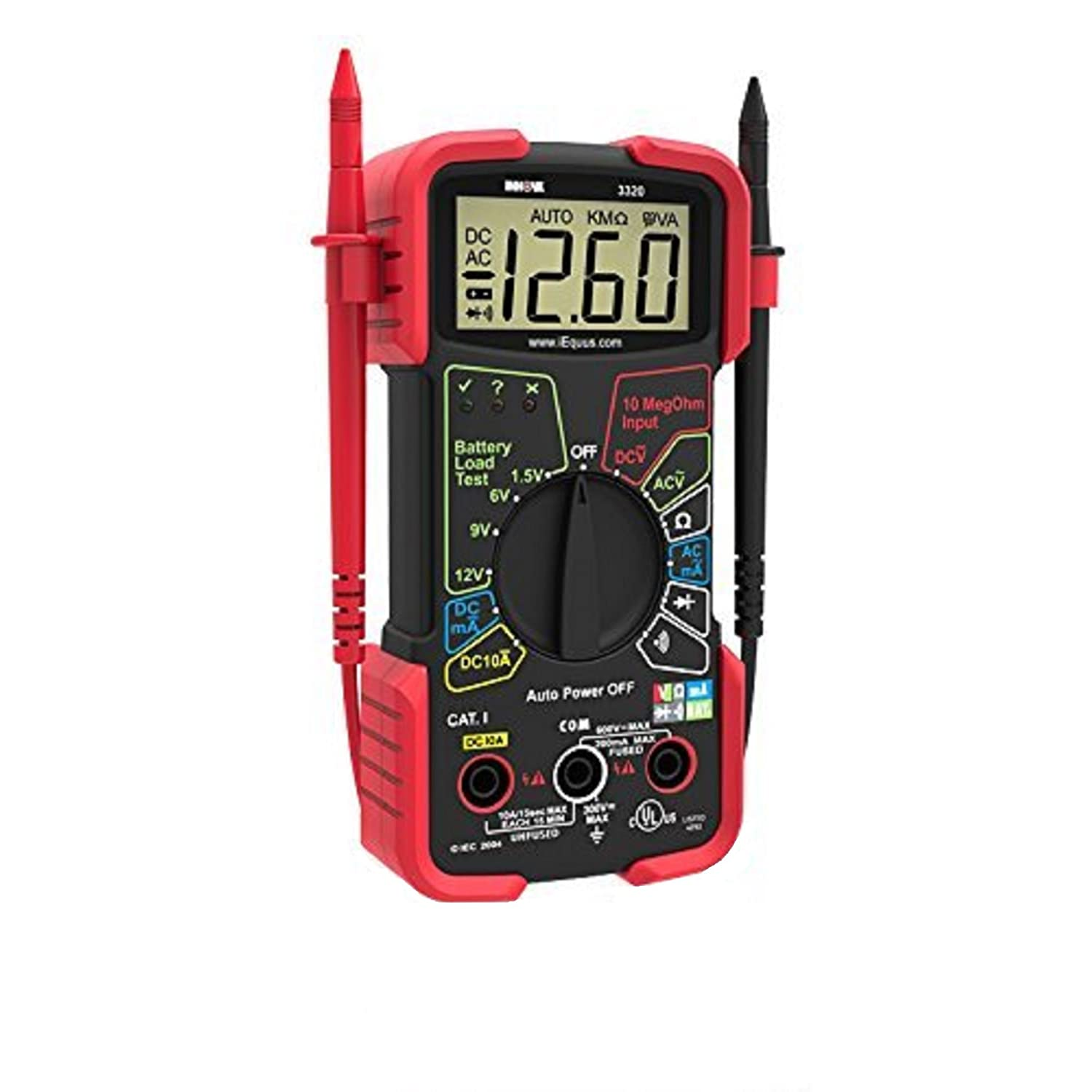 INNOVA 3320 Auto-Ranging Digital Multimeter made our list of equipment in our tips on how to choose and use the best RV battery for your needs and how to maintain your deep cycle RV battery in healthy condition to maximize its lifespan