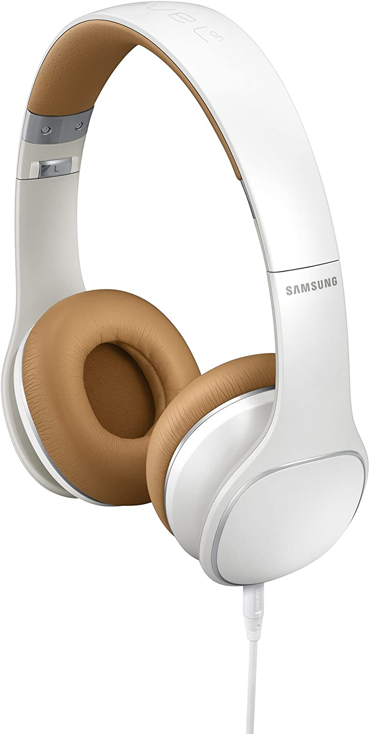 Samsung Level On-Ear Headphones - Retail Packaging - White (Discontinued by Manufacturer)