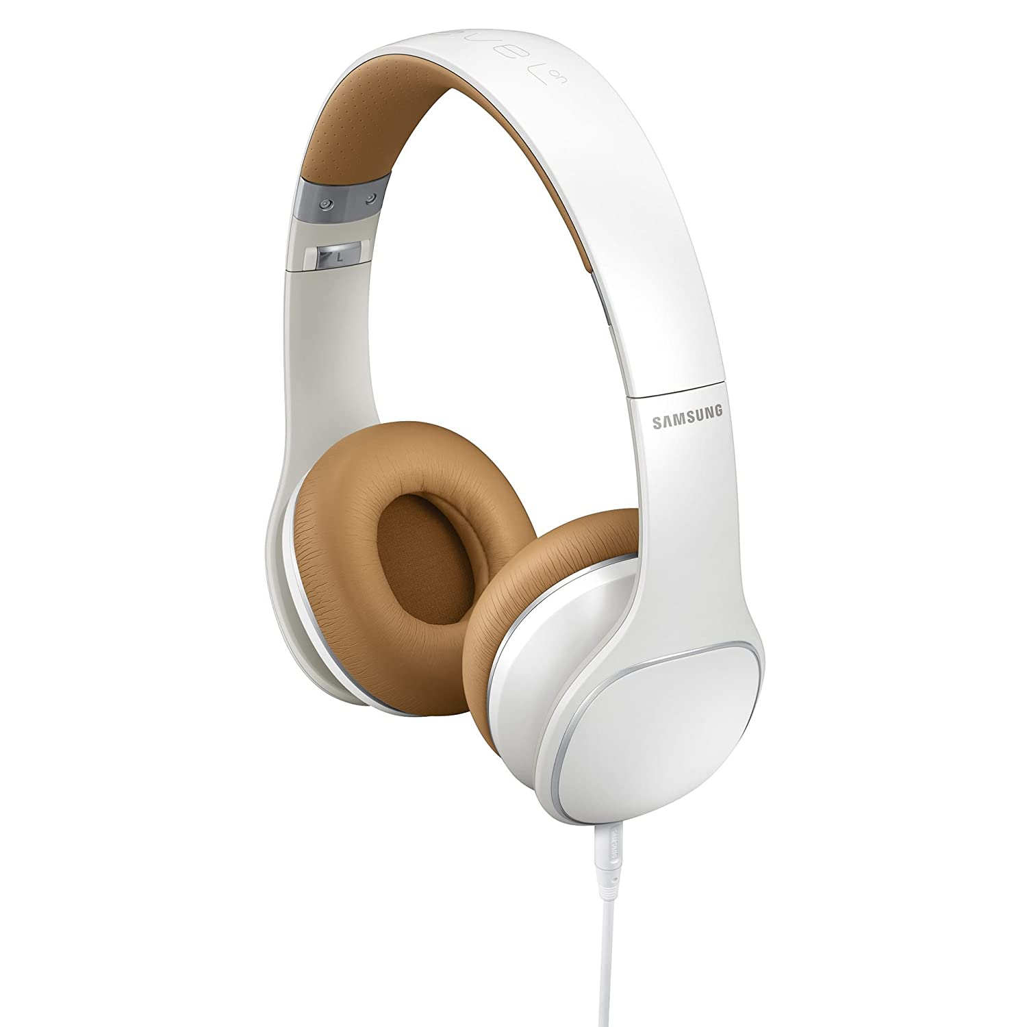 samsung headphones. amazon.com: samsung level on-ear headphones - retail packaging white (discontinued by manufacturer): cell phones \u0026 accessories m