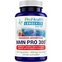 ProHealth NMN Pro Delayed Release (150 mg, 60 Capsules) Nicotinamide Mononucleotide | NAD+ Precursor | Supports Anti-Aging, Longevity and Energy | Non-GMO