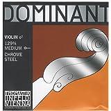 トマスティーク ヴァイオリン弦  ドミナント E線 ボールエンド3/4 ミディアムテンション クロムスチール 129