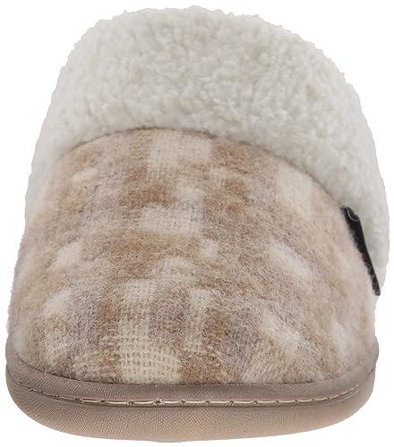Amazon.com | Woolrich Women's Kettle Creek Mule, Chinchilla/Camo Wool, 6 M  US | Slippers