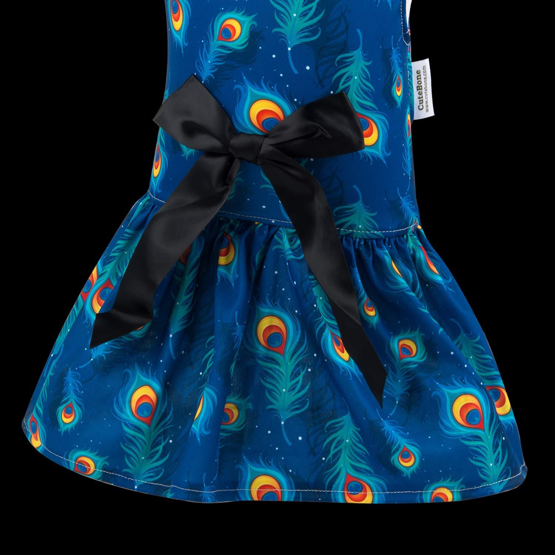 CuteBone Dog Dress Clothes for Cute Princess Small Dogs Girls